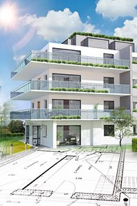 Architecture immobilier moderne
