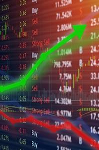 Courbes et chiffres de bourses Gestion de patrimoine